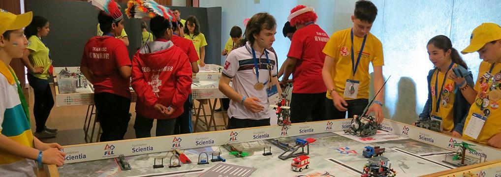 FLL OEC 2014 in Spain
