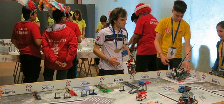 FLL OEC 2014 in Spain