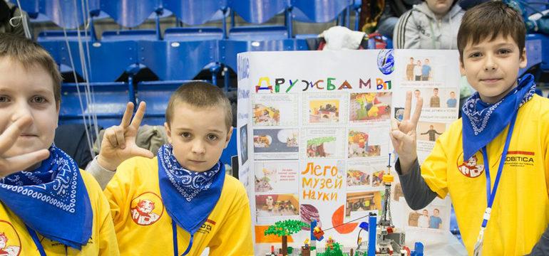 Радісна новина! Україна стала офіційним партнером FLL Jr.