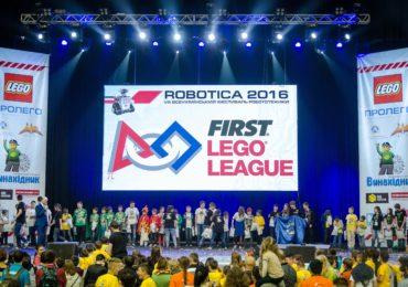 "FIRST LEGO League teams visited ""ROBOTICA 2016"" Festival in Ukraine"