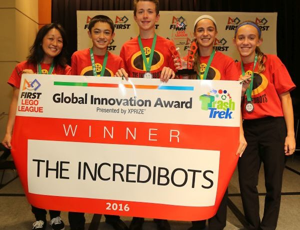 FIRST Recognizes Students for Innovation in Sixth Annual FIRST LEGO League Global Innovation Award Contest